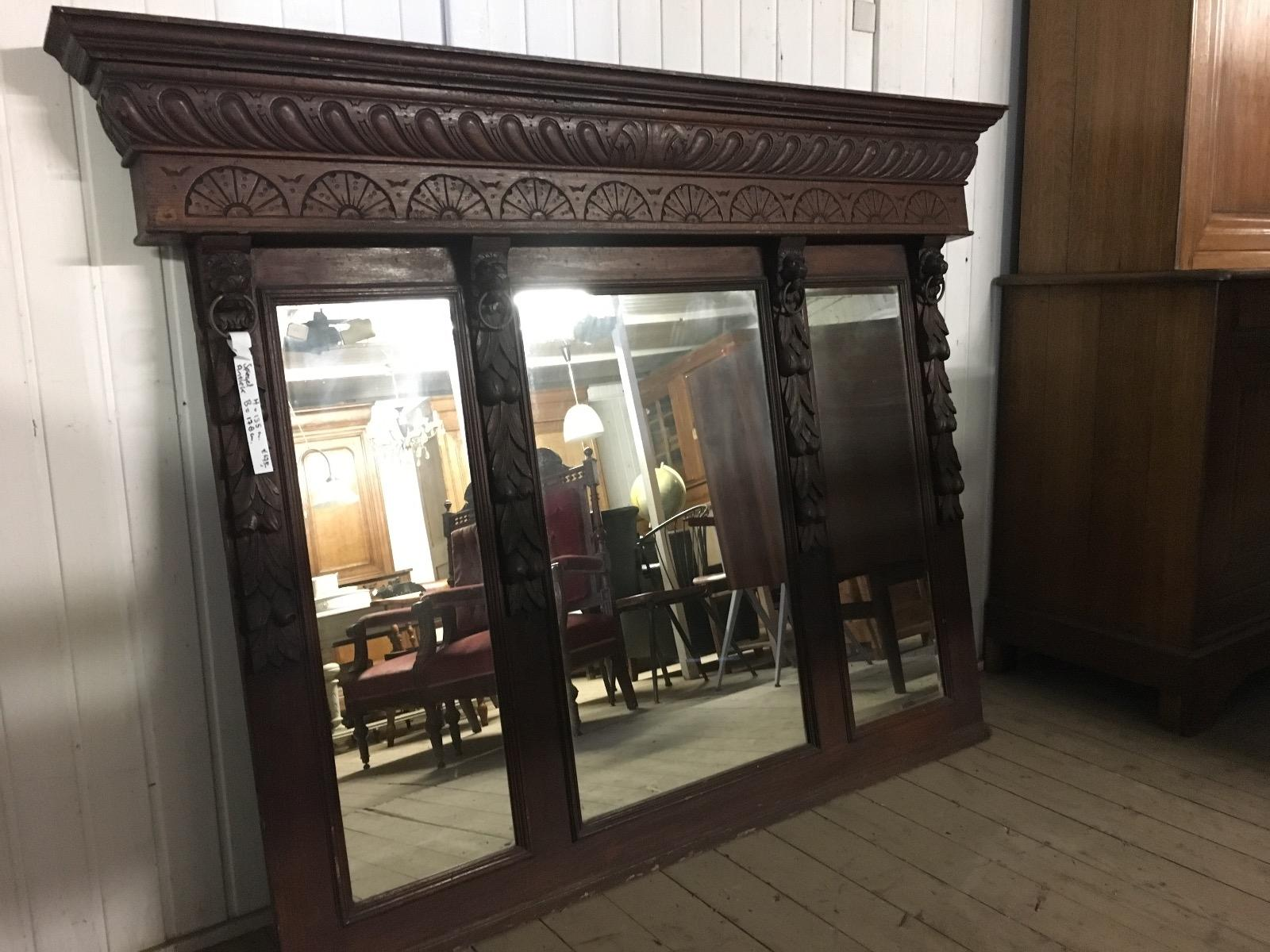 Grote Spiegel Hout : Antieke spiegels winkelinrichtingen burbri