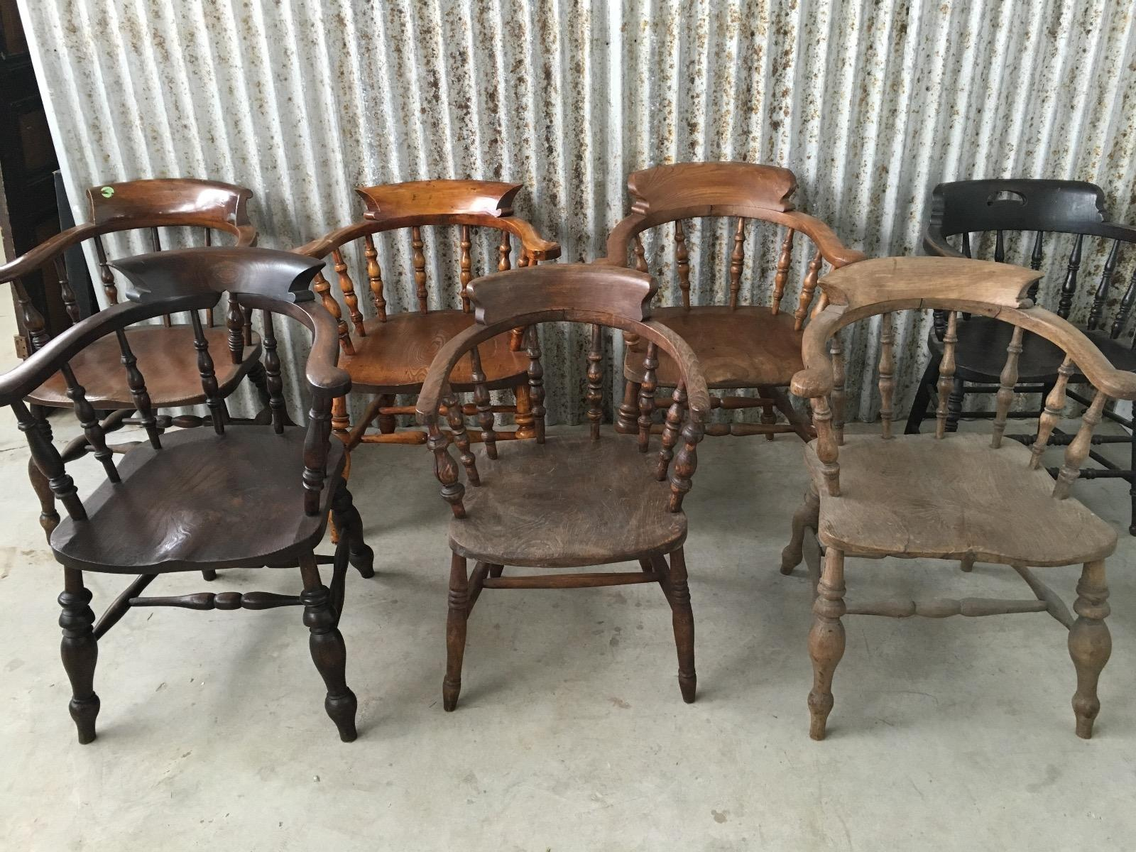 Antique captains chairs - Antique Chair From England Captains Chairs 1130706