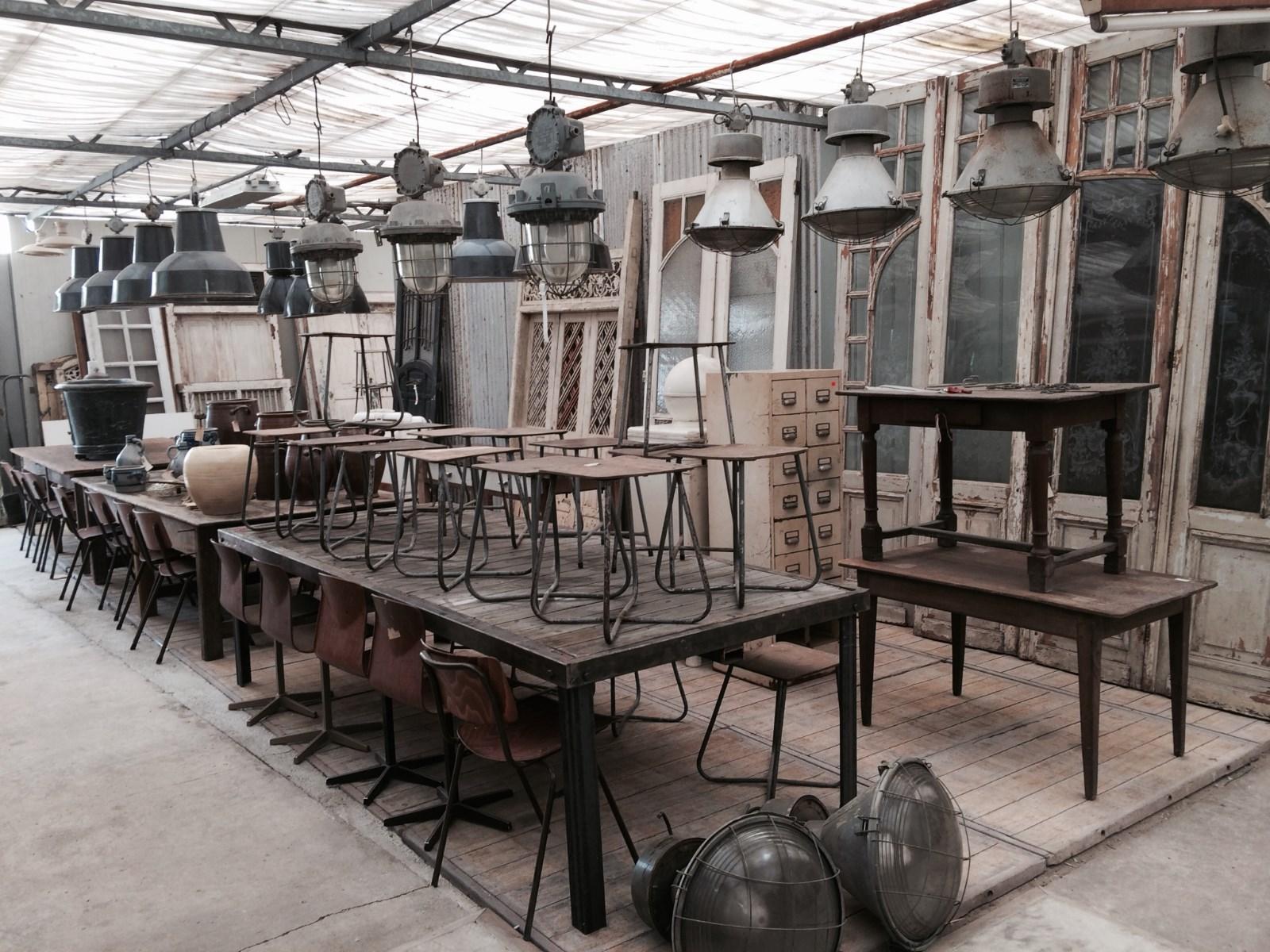 Industriele meubels outlet salontafels industrieel