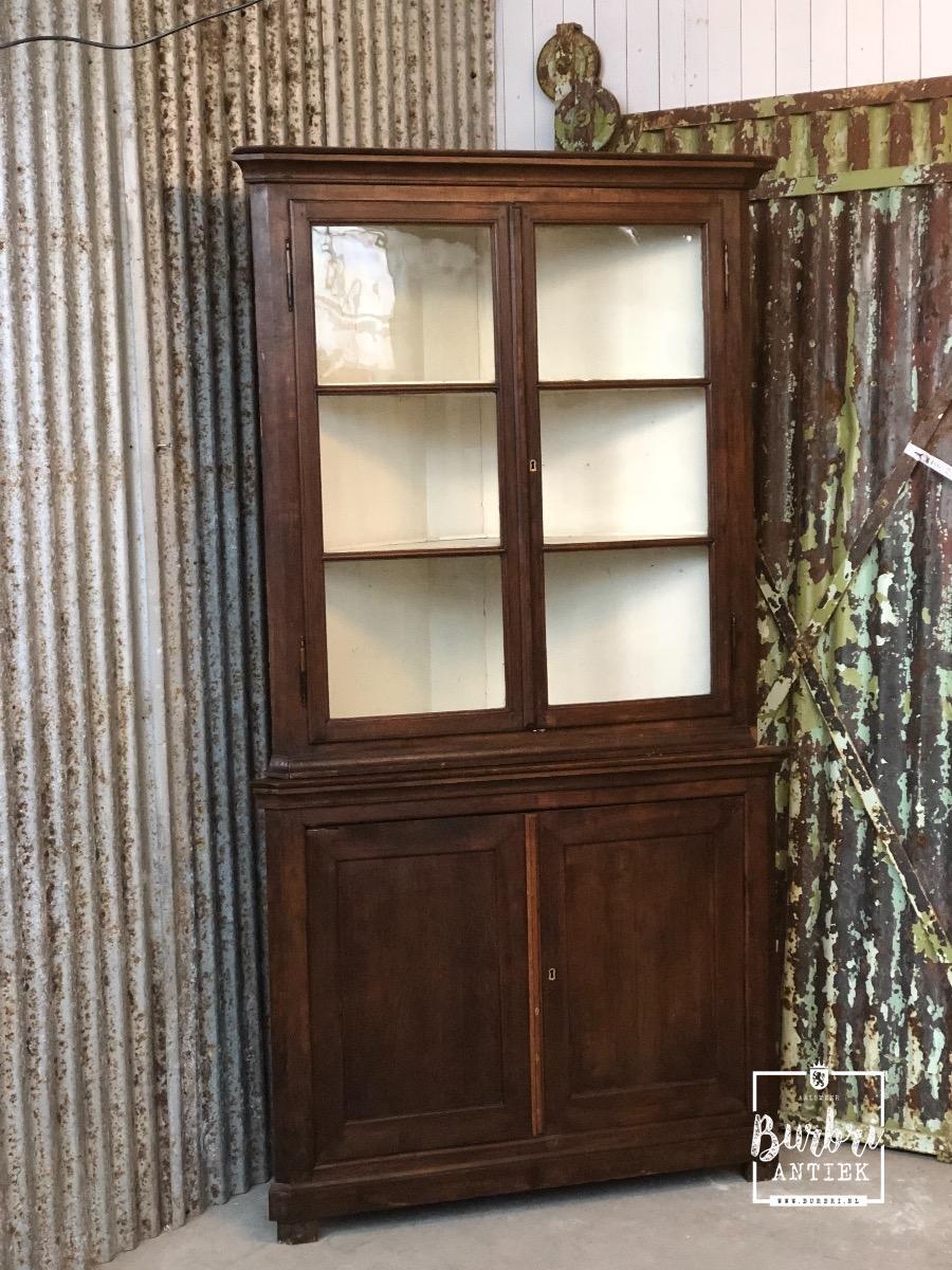 Te Koop Hoekkast.Antique Cabinet Antieke Kasten Antieke Meubels Burbri