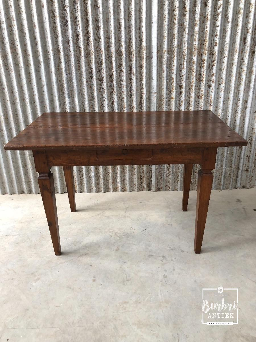 Teakhouten Tafelblad Te Koop.Antique Teak Table Tafel Stoelen Antieke Meubels Burbri
