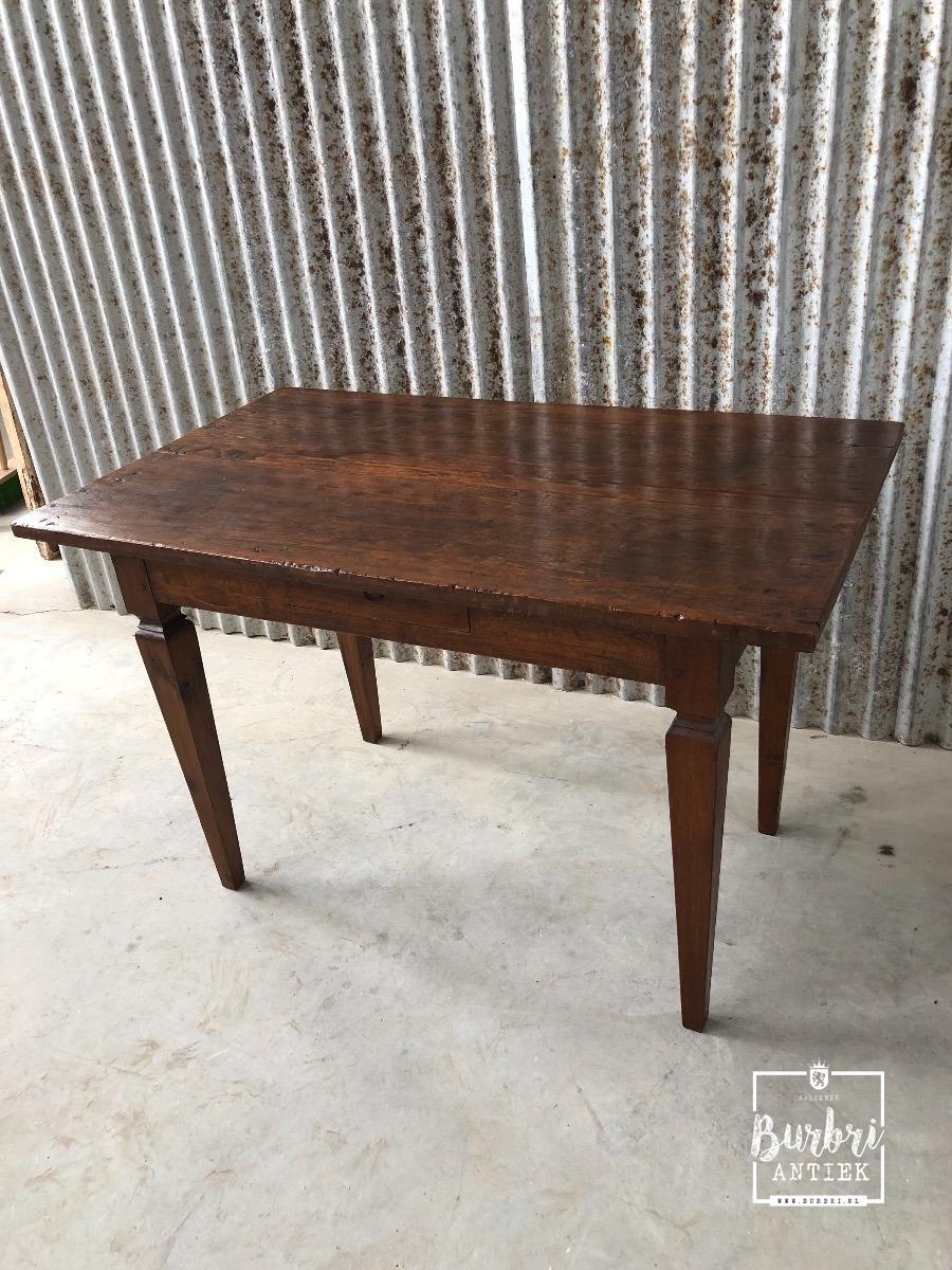 Teak Tafel Antiek.Antique Teak Table Tafel Stoelen Antieke Meubels Burbri