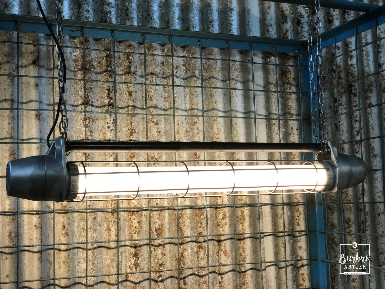 Polished industrial tl led light 1.00m long! industriële tl lampen