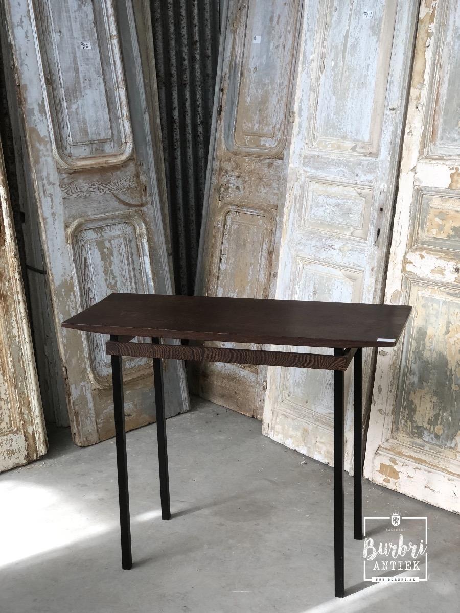 Spiksplinternieuw Tafel Vintage stijl in hout - Tafels en Bureau's - Design - Burbri NR-52
