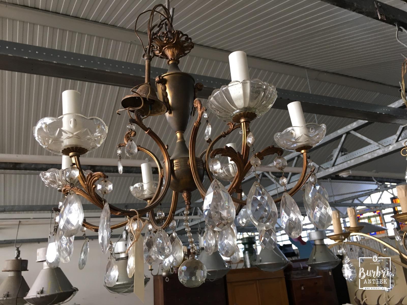 Kristallen kroonluchter klassiek industri le hang lampen for Kristallen kroonluchter schoonmaken