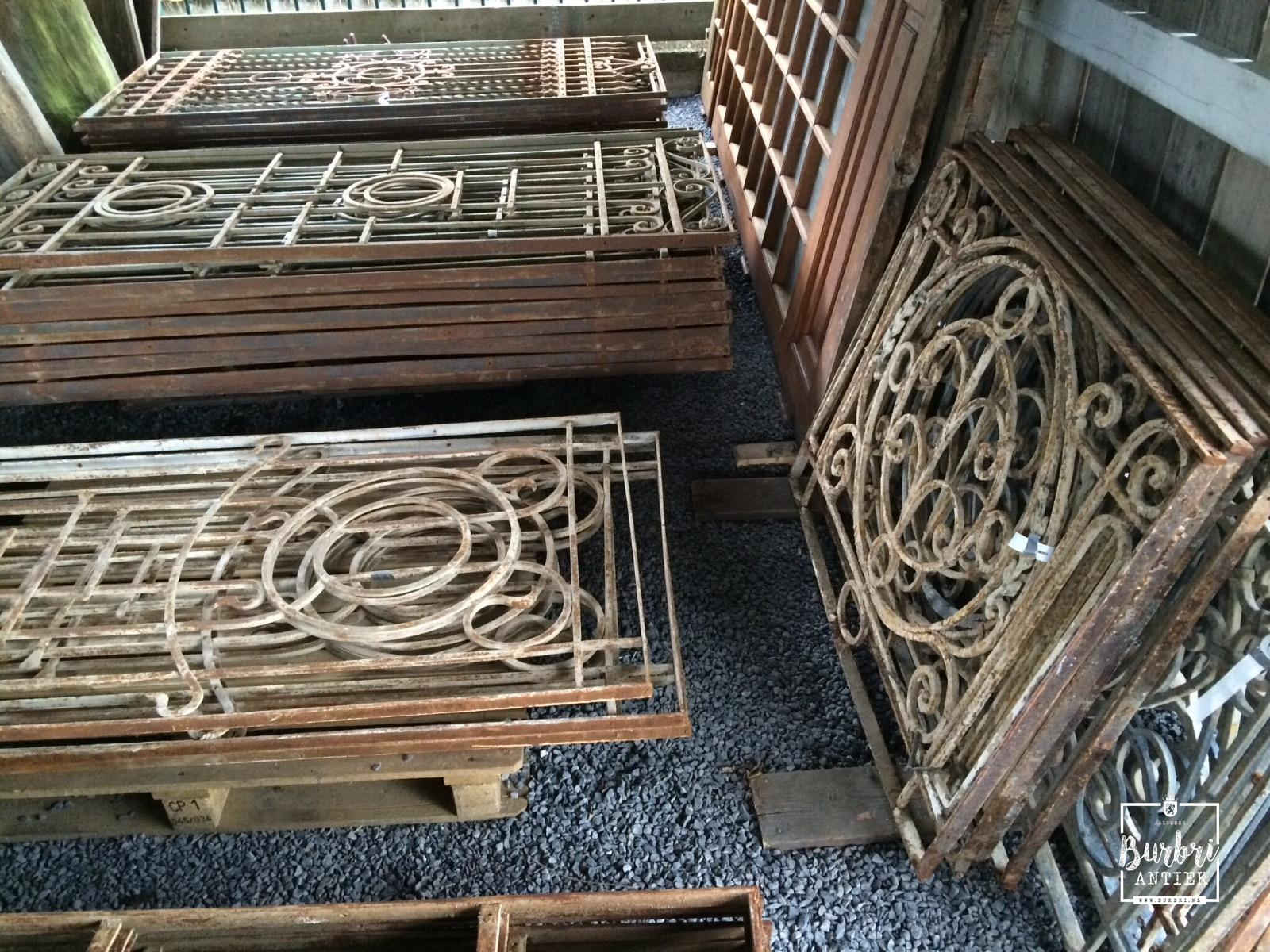 More available France Antique fencing old iron fence   Hekwerken   Oude bouwmaterialen   Burbri