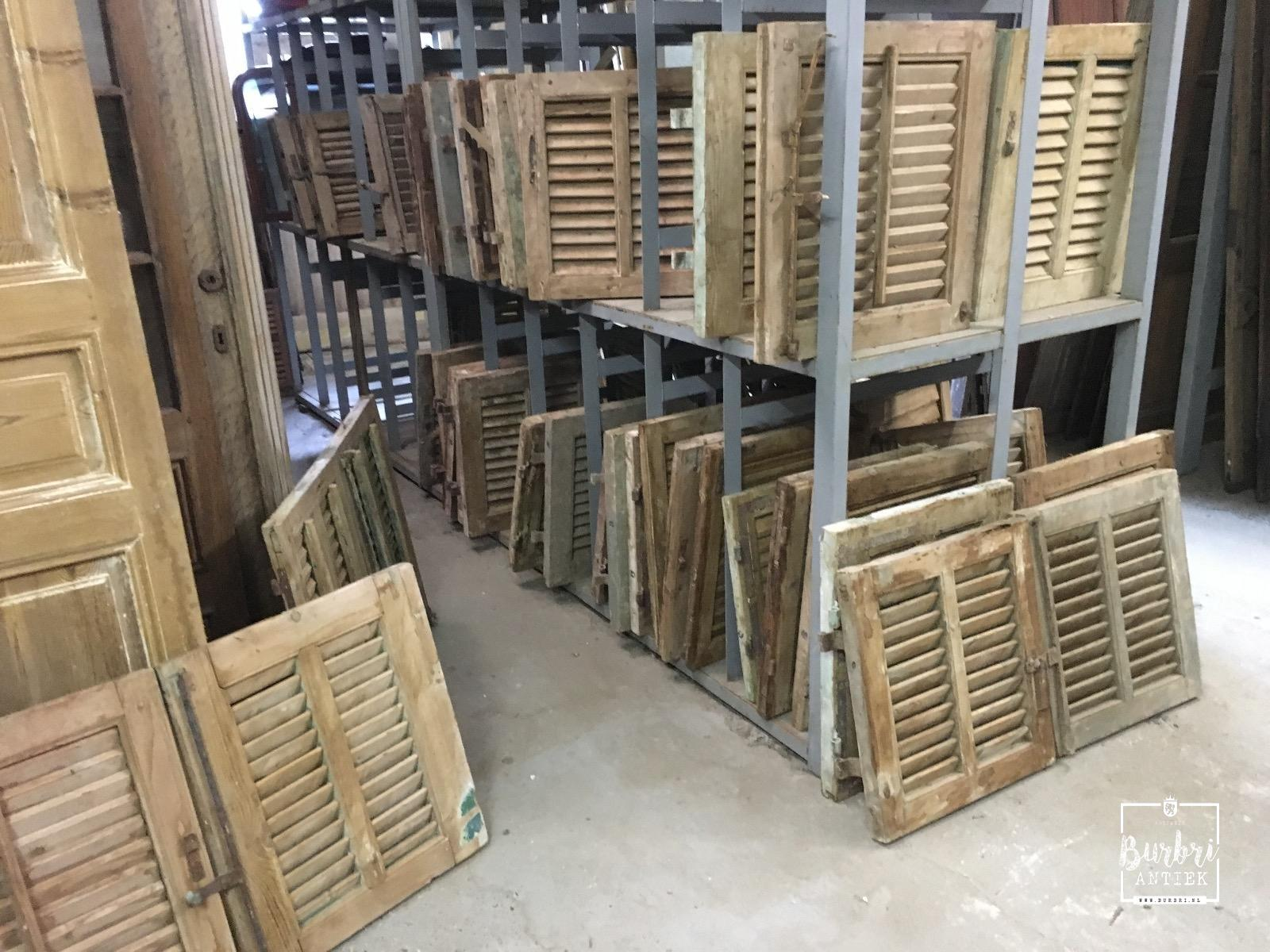 More Old buiding materials Antique stripped shutters   Oude luiken   Oude bouwmaterialen   Burbri