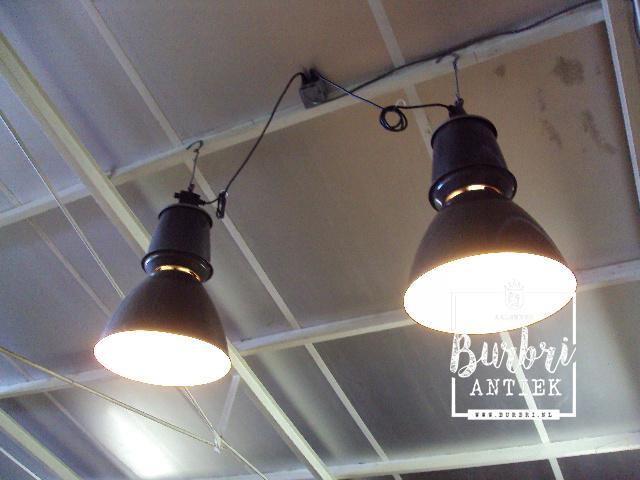 Gebruikte Industriele Lampen : Paar industrieel lampen industriële hang lampen industriële