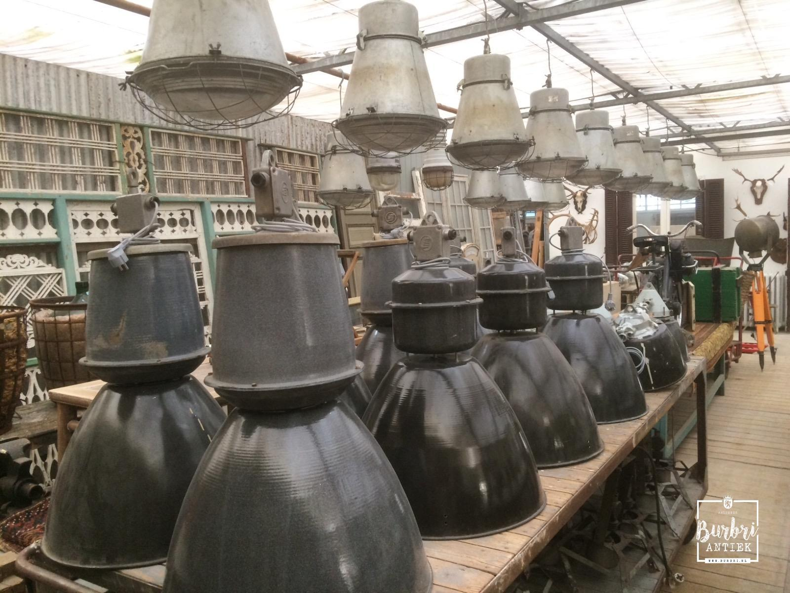 More Industrial Big Industrial Pendant Old Factory Lamps
