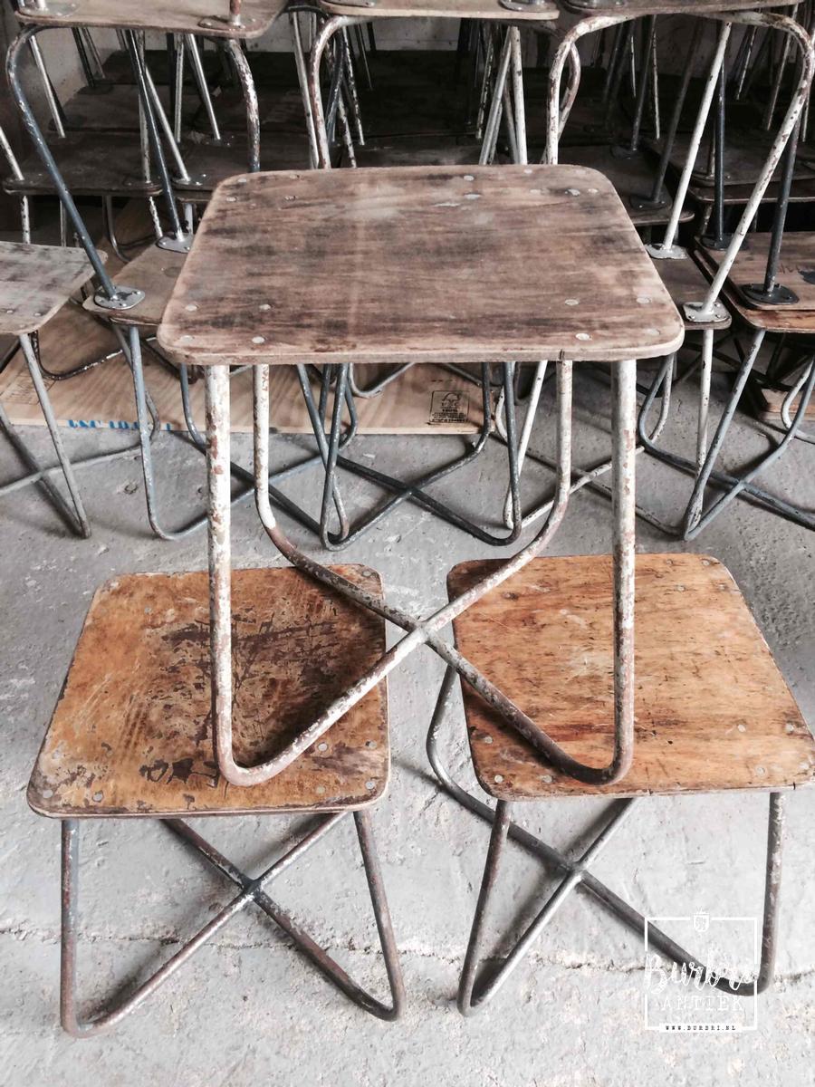 Uitgelezene A lot Industrial Industrial stools - Diverse meubels - Industrieel GN-17