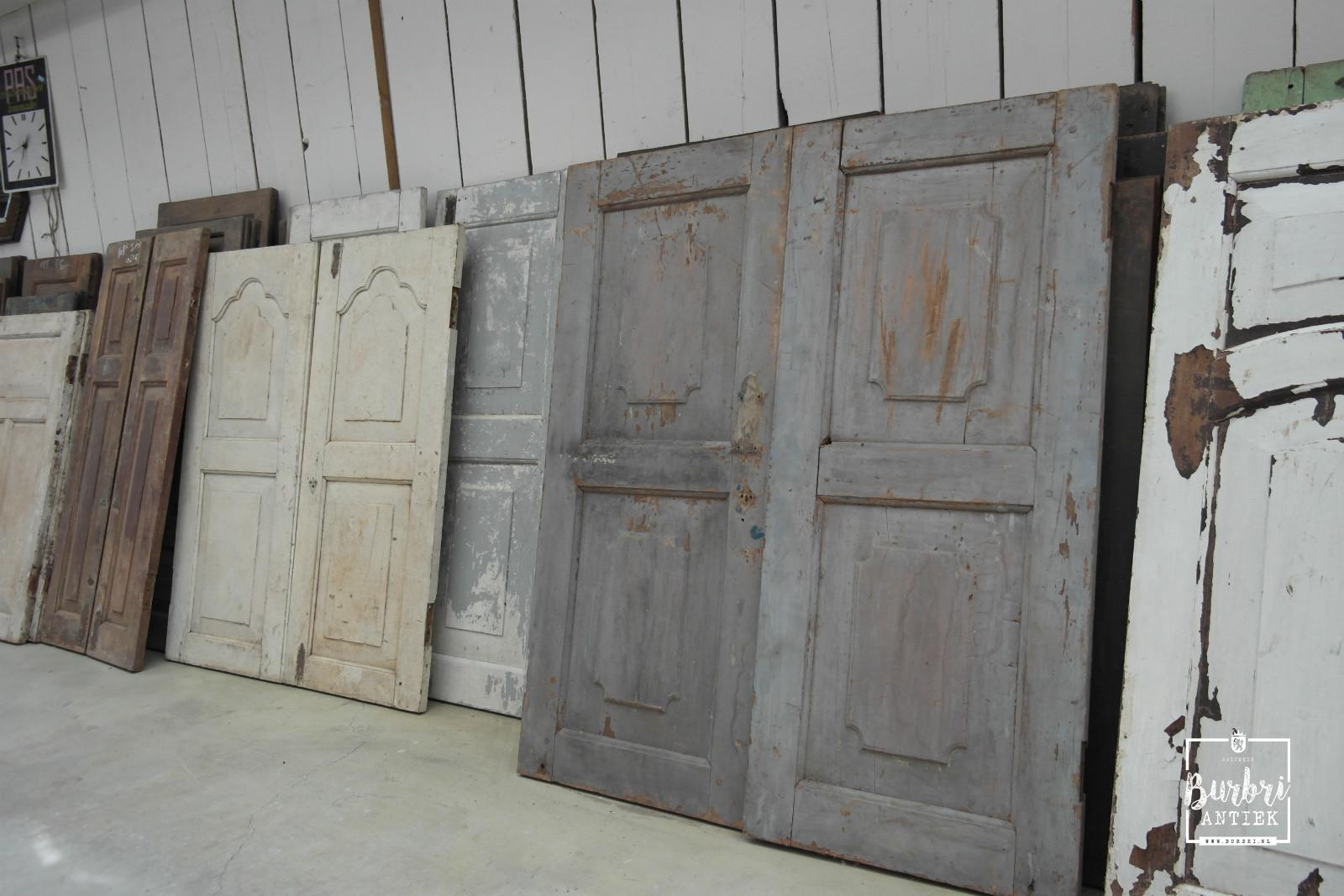 lot in stock English dutch Hardwood shutters and doors - Oude luiken ...